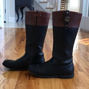 Tommy Hilfiger girls riding boots